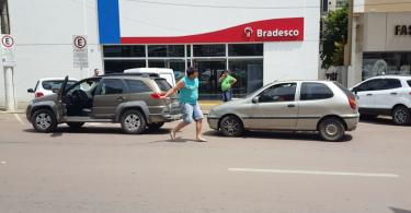 briga no trânsito